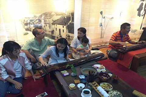 2019年1月6日在三亚式歌茶坊举行首次雅集。