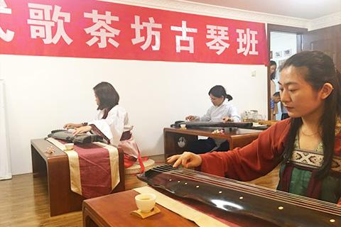 三亚古琴网式歌茶坊古琴培训班图集(20190315)